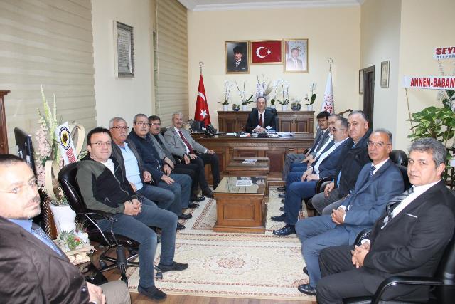 Konya ASKF'den Şahin'e ziyaret