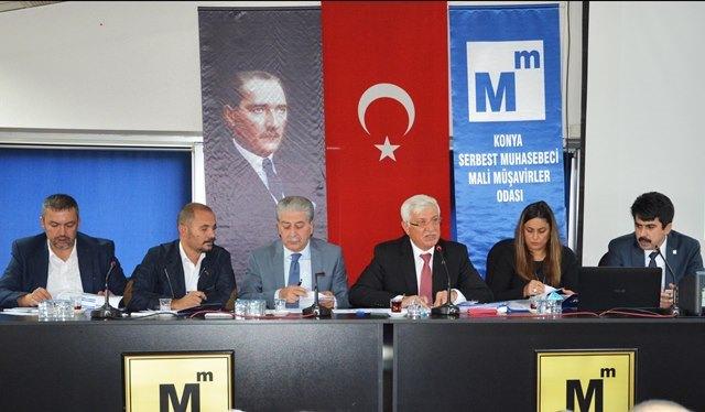 Konya SMMM Odası Danışma Meclisi Toplantısı Yapıldı