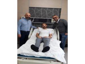 Konyasporlu Ali Çamdalı üçüncü kez ameliyat oldu