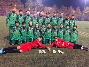 Konyaspor U13 takımı turnuvada şampiyon