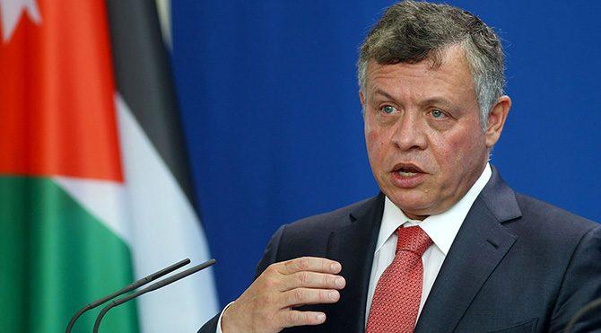 """Ürdün Kralı Abdullah: """"Filistin topraklarında tek taraflı icraat barışı baltalar"""""""