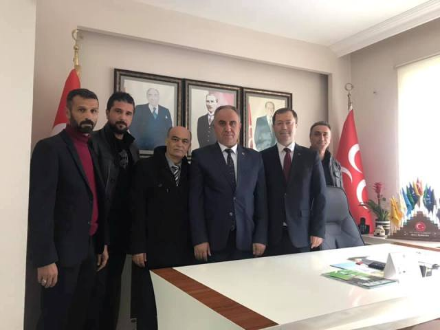 Türk Eğitim-Sen'den Karaarslan'a ziyaret