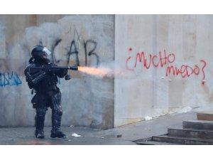 Hükümet karşıtı gösteriler Kolombiya'ya da sıçradı
