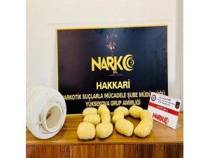 Narkotik ekipleri ülke genelinde 27 kilo uyuşturucu madde ele geçirdi