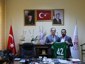 1922 Konyaspor'dan hayırlı olsun ziyareti