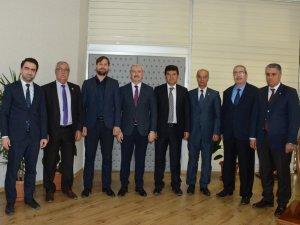 ASKF'den Büyükşehir Belediyesi'ne ziyaret