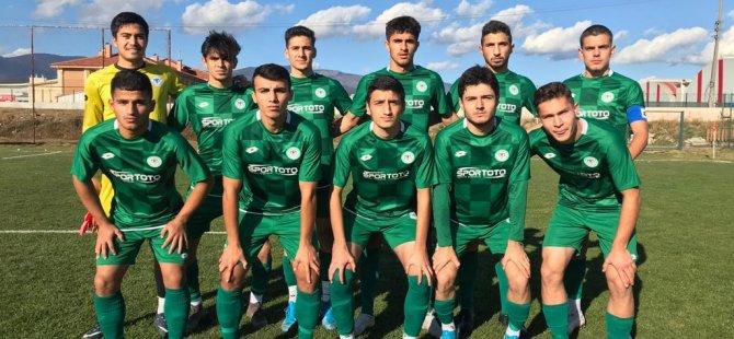 Konyaspor U19 deplasmandan 3 puanla döndü