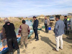 Belediye Başkanı Çiğdem, balıkçılarla buluştu