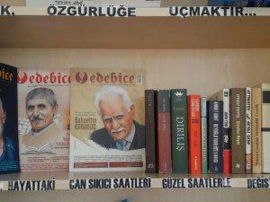 Bozkır okullarında öğretmen kütüphaneleri oluşturuldu