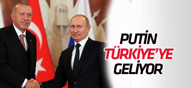 Rusya Devlet Başkanı Putin, Türkiye'ye gelecek