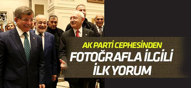 Siz AK Parti'nin verdiği fotoğrafa bakın