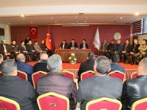 Hadim'de halk günü toplantısı düzenlendi