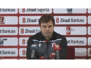 """Ertuğrul Sağlam: """"Bir yandan gol atmak bir yandan gol yememek bizim için zor oldu"""""""