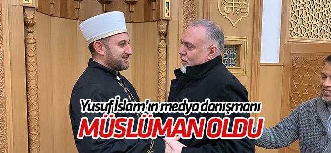 Yusuf İslam'ın medya danışmanı  Carvalho Müslüman oldu