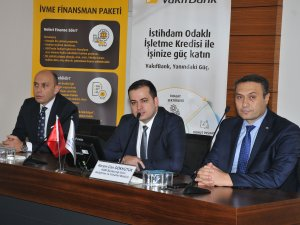 Sanayicilere İvme Finansman Paketi anlatıldı