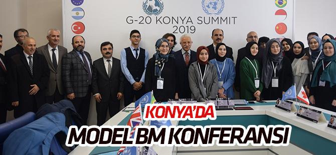 Konya'da  'Model Birleşmiş Milletler Konferansı'