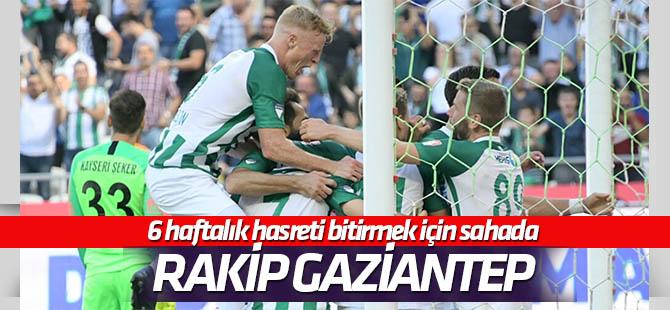Konyaspor'un konuğu Gaziantep