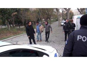 Taksim'de sözlü tacize gözaltı