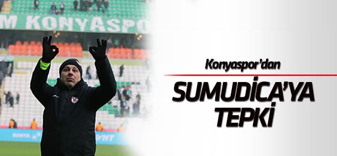 Konyaspor'dan Sumudica'ya tepki