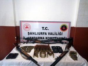 Şanlıurfa'da silah kaçakçılığı operasyonunda 5 şüpheli yakalandı
