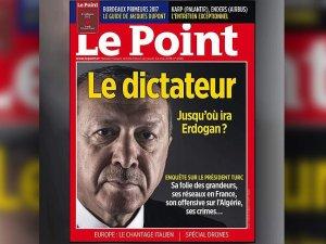 Erdoğan'ın suç duyurusunda bulunduğu haber için Le Point'e ödül verildi