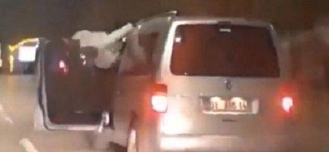 Hareket halindeki araçta dans eden sürücüye hapis cezası onandı