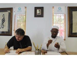 Hat sanatı Güney Afrika'da tanıtıldı