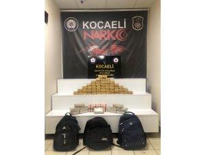 GÜNCELLEME - Kocaeli'de aracında 35 kilo 785 gram eroin ele geçirilen şüpheli tutuklandı