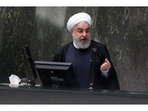 İran Cumhurbaşkanı Ruhani'den ABD'ye yaptırım eleştirisi