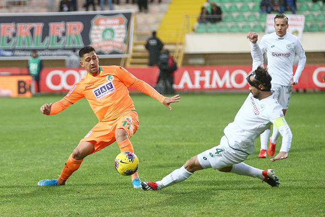Alanyaspor: 2 - Konyaspor: 1