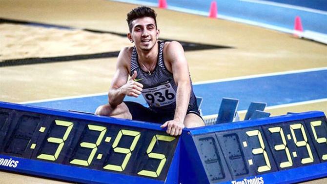 Milli sporcumuz İlyas Çanakçı'dan bir rekor daha