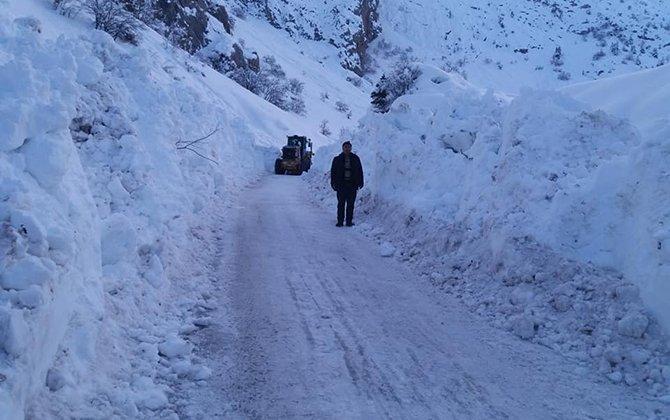 Hadim'de ulaşıma kapalı yol kalmadı