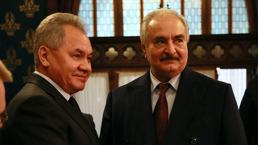 """Rusya Savunma Bakanlığı: """"Hafter'in istişareler için 2 güne ihtiyacı var"""""""