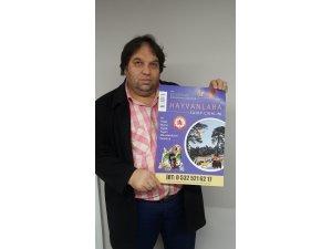 Koyulhisar'da yaban hayvanları için yem kampanyası başlatıldı