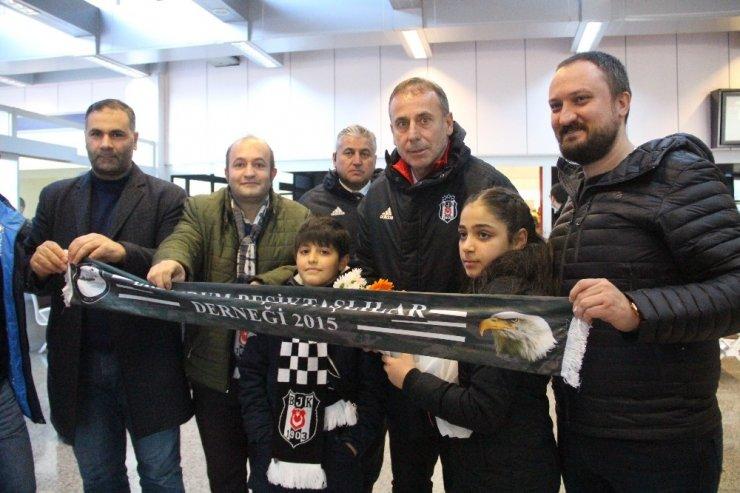 Beşiktaş, kupa maçı için Erzurum'a geldi