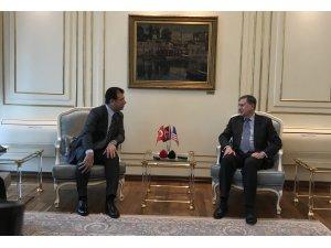 ABD'nin Ankara Büyükelçisi Satterfield, İstanbul Büyükşehir Belediyesini ziyaret etti