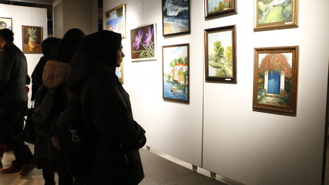 "MEDAŞ Sanat Galerisinde ""Yansıma"" resim sergisi"