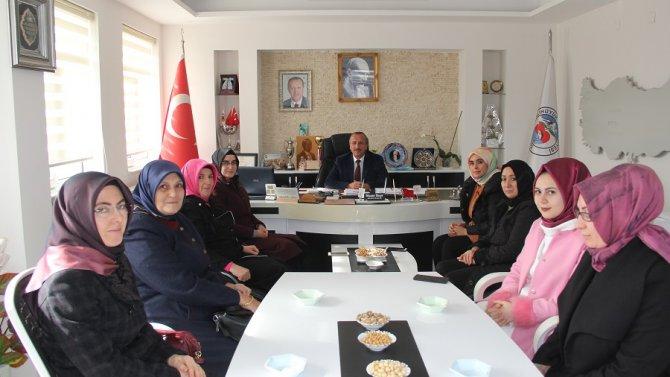 Yalıhüyük Belediye Başkanı Hasan Koçer'e ziyaretler