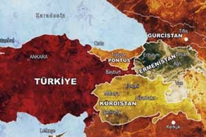 Türkiye o harita gibi bölünecek mi?