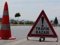 Konya'da trafik kazası: 1 ölü, 5 yaralı