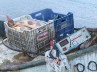 Elektroşok cihazıyla balık avına 8 bin 960 lira ceza