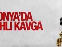 Konya'da silahlı kavga...