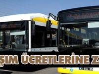 Konya'da toplu ulaşıma zam!