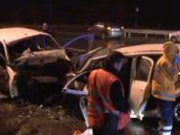 Başkent'te feci kaza: 5 ölü 5 yaralı