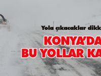 Akseki-Seydişehir Karayolu Trafiğe Kapandı