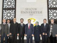 Konya Platformu'ndan Şahin'e ziyaret