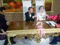 Yasemin ile Tahir çifti mutluluğa evet dedi