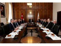 Terörle Mücadele ve Rehabilitasyon Çalışmaları Eylem Planı Toplantısı