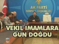 Vekil İmam Hatiplerin Kadro Talebi AK Parti Gündemine Alınacak