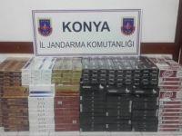 7 bin 500 paket kaçak sigara ele geçirildi